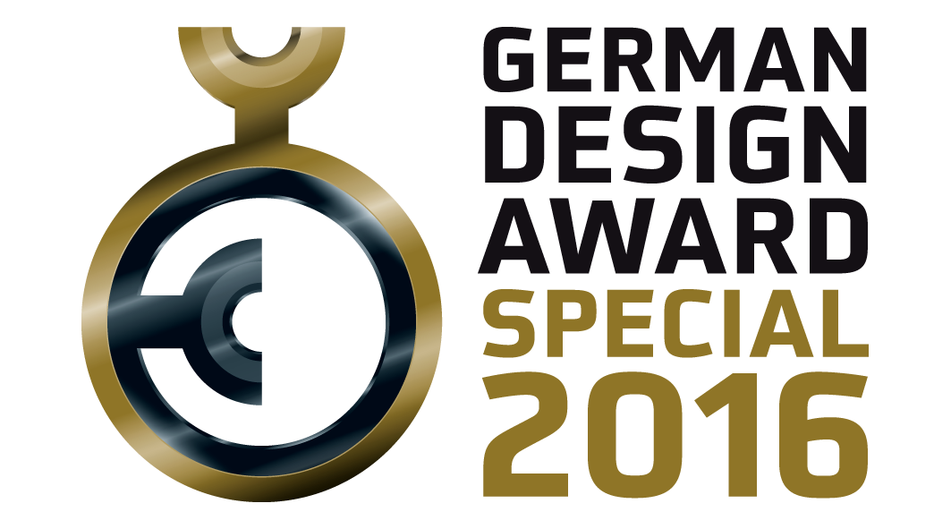 German Design Award 2016 - Special Mention
